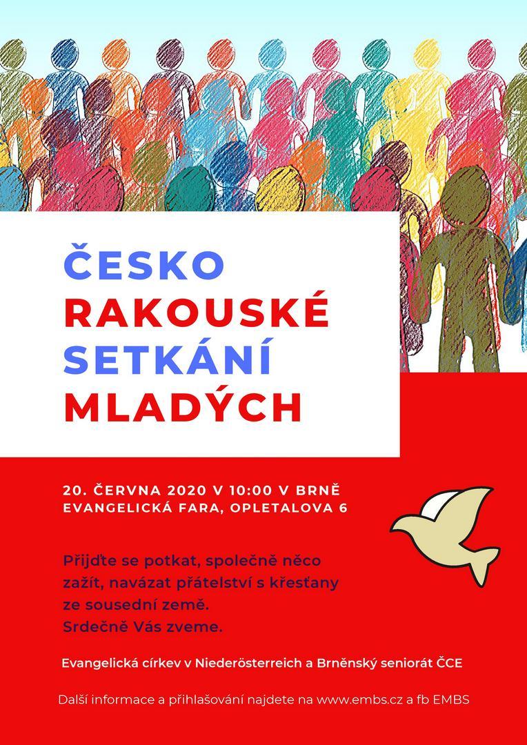 Česko-rakouská setkání 2020, plakát